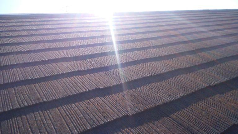 現場調査 屋根材の劣化