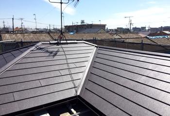 瓦屋根の葺き替えリフォームが完成