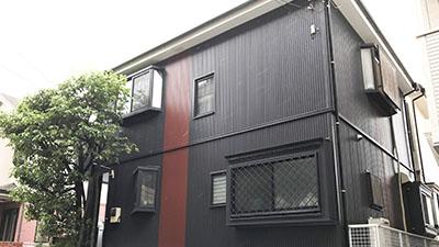 戸建て住宅の外壁